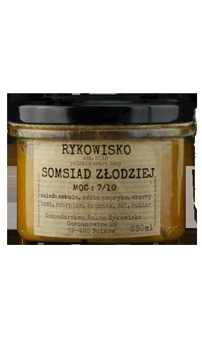 somsiad złodziej polski sos cebulowy